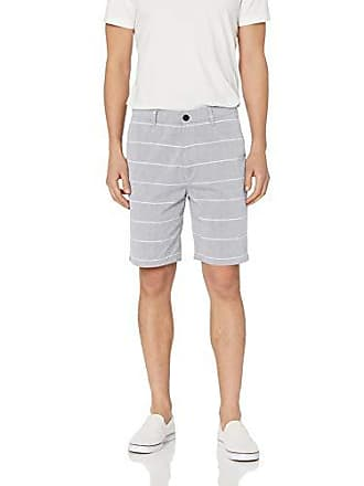 Hurley Mens Icon Chino Regular Fit 21 Walk Shorts, Cool Grey Stripe 38