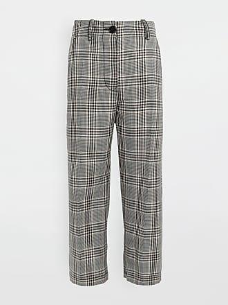 Maison Margiela Mm6 By Maison Margiela Casual Pants Black Virgin Wool, Polyester