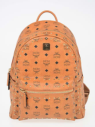 MCM Printed Leather backpack with Studs size Unica