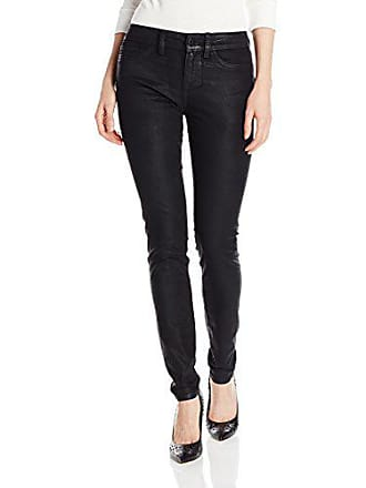 Yummie Tummie Womens Modern Mid Rise Slimming Skinny Denim Jeans, Velveteen, 25
