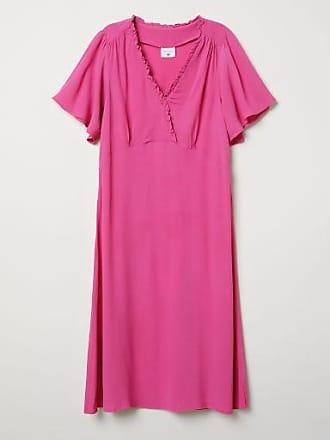 H&M Crêped Dress - Pink