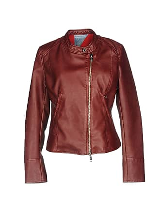 41a86c6a8 Red Faux Leather Jackets: 4 Products & at USD $84.00+ | Stylight