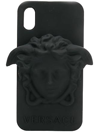 Versace Medusa head iPhone XS Max case - Preto