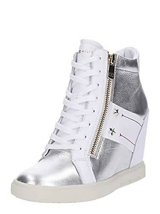 3e00a3bb157d Tommy Hilfiger Tommy Wedge Sneaker Sneakers Basses Femme