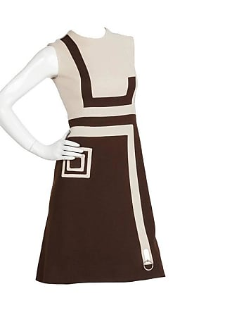 2f0523b1974 Pierre Cardin 1970s Pierre Cardin Mod Graphic Jersey Wool Day Dress