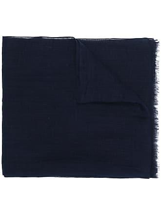 Eleventy Cachecol de linho - Azul