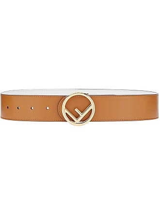Fendi F Is Fendi belt - Brown