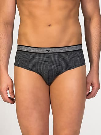 ZD Zero Defects Zero Defects dark grey egyptian cotton brief