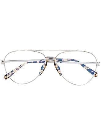 Brioni Armação de óculos aviador - Prateado