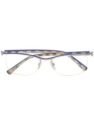 Etnia Barcelona Armação de óculos retangular - Metálico