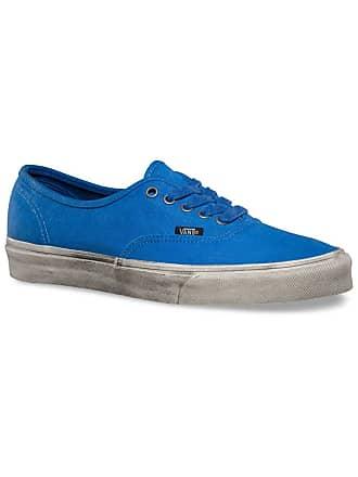 c3b84f8b1a996e Vans Womens AUTHENTIC Trainers Blue Nautical Blue True White