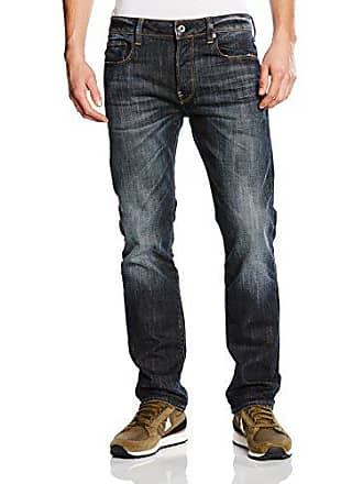 G-Star Revend Straight, Jeans Homme, Bleu (DK Aged 6083-89 46574299366d