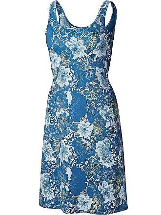 bb8fc847c6 Columbia Womens Freezer III Dress - Medium - Impulse Blue Flowers Print