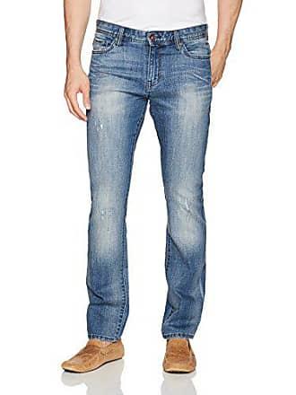 66f78e70f William Rast Mens Dean Slim Straight Denim Jean, Gold Miner, 38 x 32