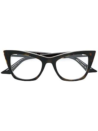Dita Eyewear Óculos de grau gatinho Showgoer - Marrom
