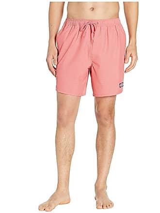 574b94bcc0 Vineyard Vines Fine Line Stripe Chappy Swim Shorts (Jetty Red) Mens Swimwear
