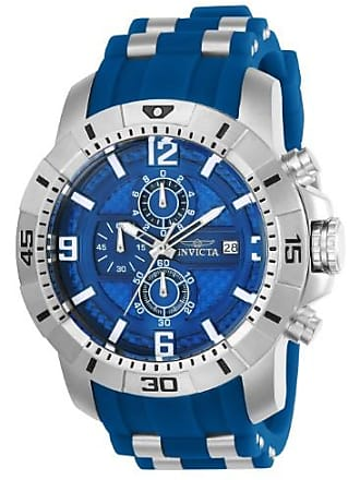 Invicta Pro Diver 24963 Stainless Steel, Silicone Chronograph Watch