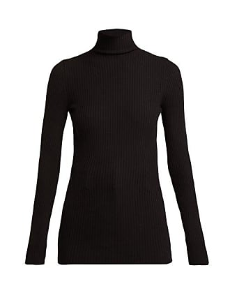 Wolford Ribbed Knit High Neck Top - Womens - Black