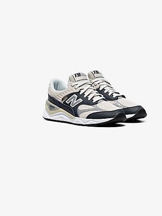New Balance off-white X90 caged leather low-top sneakers 48a61197761