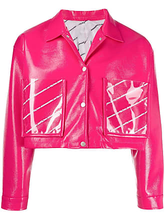 WWWM - What We Wear Matters Jaqueta slim cropped - Rosa