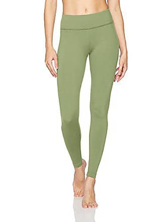 2816e45277b166 Danskin Womens Signature Wide Waist Yoga Ankle Legging, Hedge Green, Medium