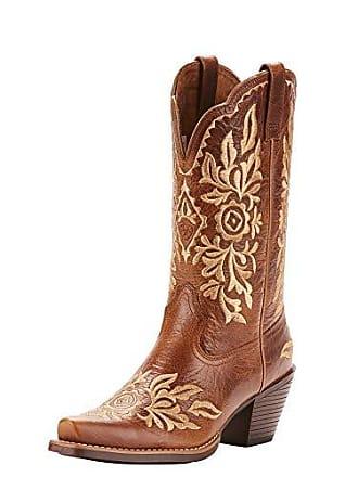 Ariat Ariat Womens HARPER Boot, burner brown, 10 B US