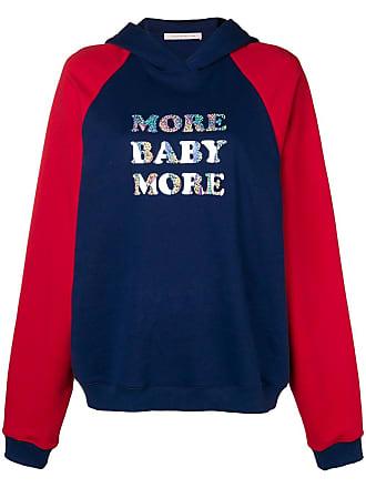 Christopher Kane Moletom More Baby More - Azul