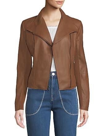a2f215b8d5b Andrew Marc Felix Best Seller Asymmetric-Zip Leather Moto Jacket