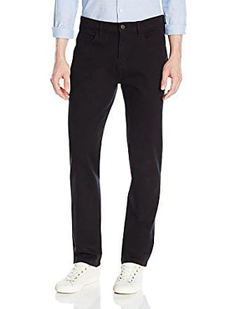 Goodthreads Mens Athletic-Fit 5-Pocket Chino Pant, Black, 29W x 28L