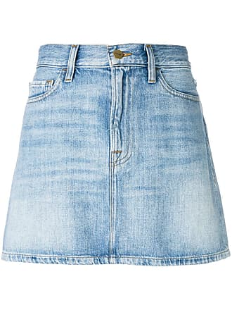 Frame Denim Saia jeans Le Mini - Azul
