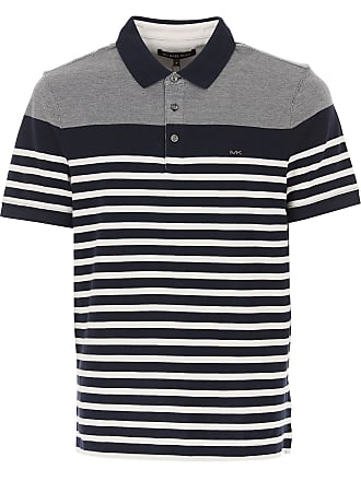 a82f1f7d Michael Kors Polo Shirt for Men On Sale in Outlet, Midnight, Cotton, 2017