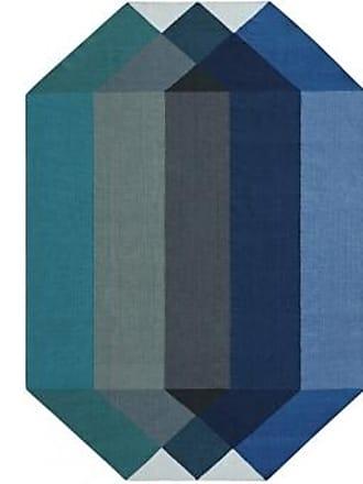 GAN Rugs Teppich Diamond Blue Green