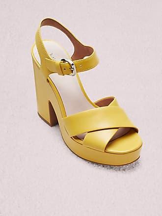 Kate Spade New York Grace Platform Sandals, Marigold - Size 5