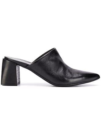 Marsèll Sapato mule de couro - Preto
