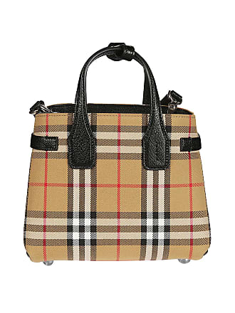 f0166358c2 Burberry Baby Banner Vintage Check and leather bag