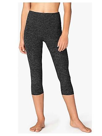 2c2487cfdb Beyond Yoga Womens Spacedye High Waist Capri Legging - Medium - Black/White  SD