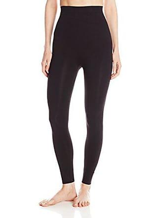 Joan Vass Womens Seamless Shaping Legging, Black, Large