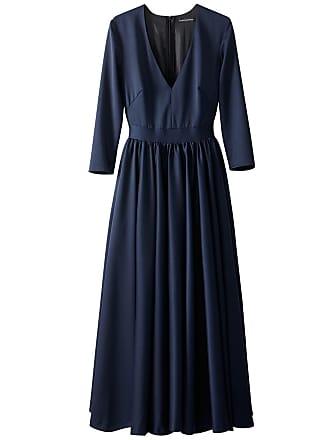 c711b3d96ddd64 La Redoute Collections Halflange jurk in zwaar satijn