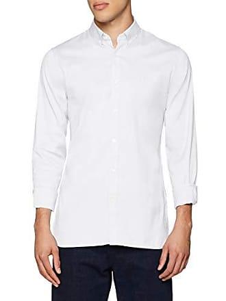 c75360c2e04 Lacoste CH0431 Chemise habillée Homme Blanc (White 001) 39 (Taille  Fabricant  39