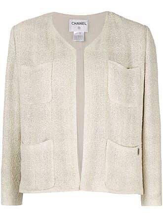 Chanel long sleeve jacket - Neutrals
