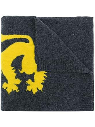 Pringle Of Scotland Echarpe Lion Emblem - Cinza