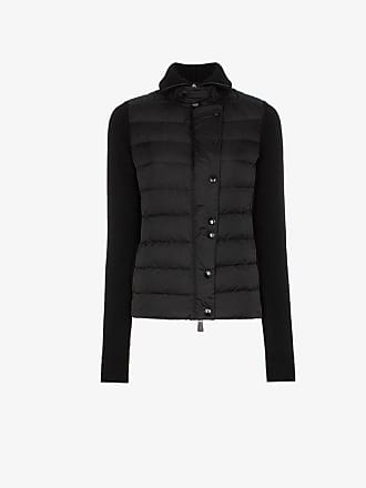 Moncler Maglione knitted sleeve puffer jacket