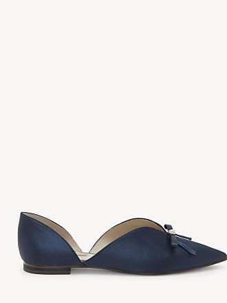 Louise et Cie Womens Cly Pointed Toe Flats Nightshade Size 7 Suede From Sole Society