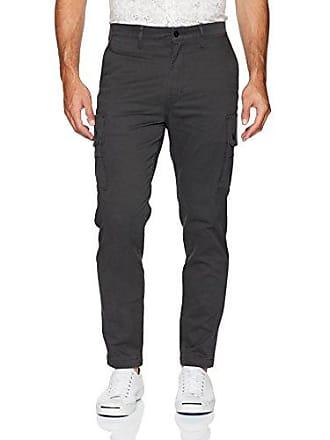 afd724f8 Levi's Mens Slim Taper Cargo Pant, Graphite/Soft wash Stretch Twill, 32W x