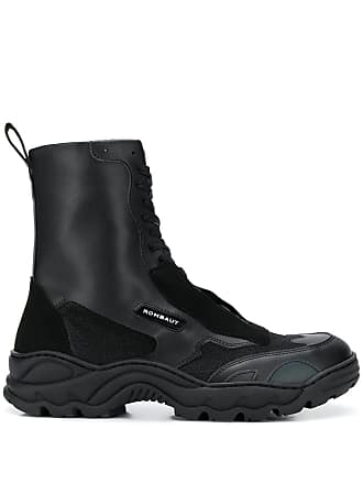 Rombaut ridged sole boots - Black