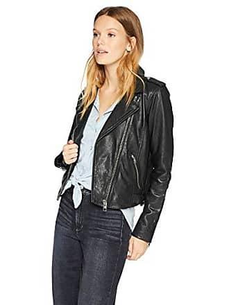 Lucky Brand Womens CORE Moto Jacket, Lucky Black, XS