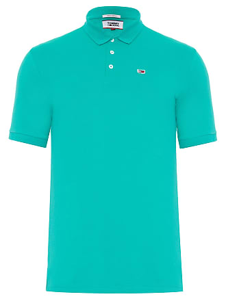 Tommy Jeans POLO MASCULINA TOMMY CLASSICS SOLID - VERDE