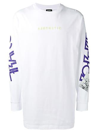 Diesel T-Lucas-LS-YB sweatshirt - White