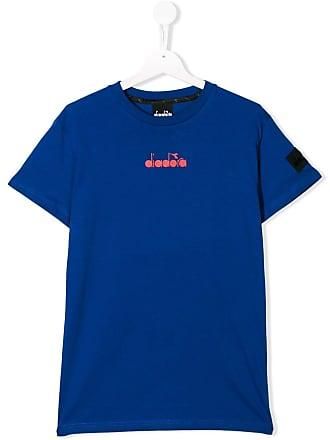 Diadora Camiseta com logo - Azul