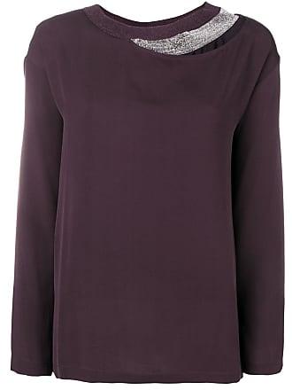 9e067f7ded1b3 Fabiana Filippi layered long sleeved blouse - Pink